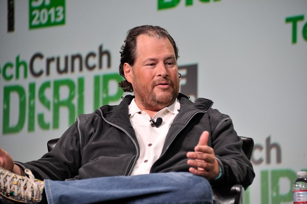 Salesforce CEO Benioff: Capitalism Should Be Compassionate