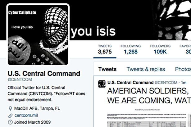 ISIS Twitter Hack