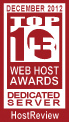 Best Dedicated Server Award